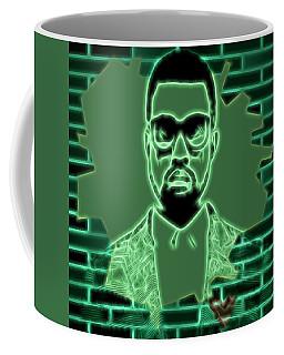 Electric Kanye West Graphic Coffee Mug