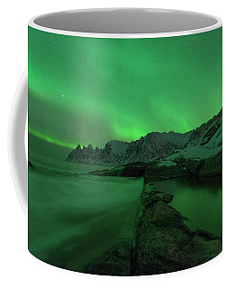 Coffee Mug featuring the photograph Electric Night by Alex Lapidus