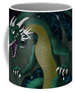 Electric Portal Dragon Coffee Mug
