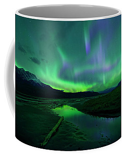Electric Skies Over Jasper National Park Coffee Mug
