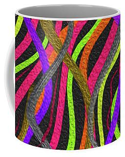 Electric Squiggles Coffee Mug
