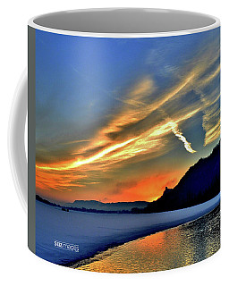 Electric Sunrise Coffee Mug