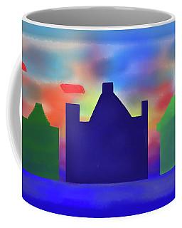 Electric Sunrise Coffee Mug