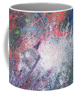 Coffee Mug featuring the painting Electric Supernova by Rebecca Davidson