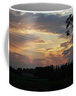 Electrified Sunset Coffee Mug