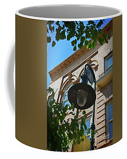 Coffee Mug featuring the photograph Electrifying  Architecture by Skip Willits
