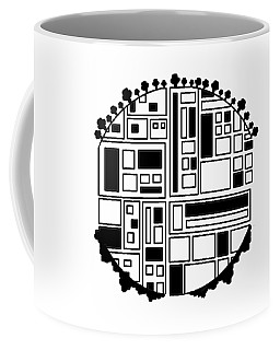 Electronic City Coffee Mug