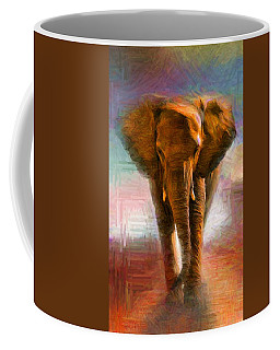 Elephant 1 Coffee Mug by Caito Junqueira