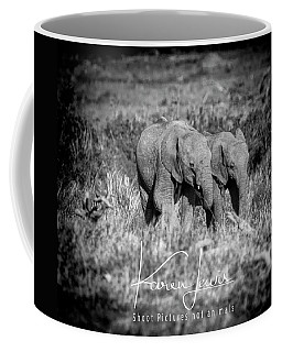 Elefriends Coffee Mug by Karen Lewis