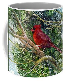 Elegance In Red Coffee Mug