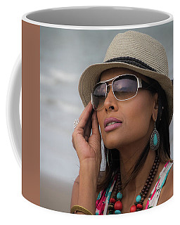 Elegant Beach Fashion Coffee Mug