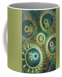 Elegant Clockwork Coffee Mug