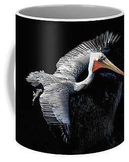 Coffee Mug featuring the photograph Elegant Flight by Howard Bagley