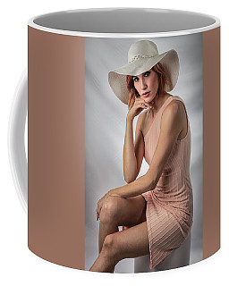 Elegant Johanna In Peach Coffee Mug