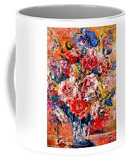 Elegant Peonies Coffee Mug by Natalie Holland