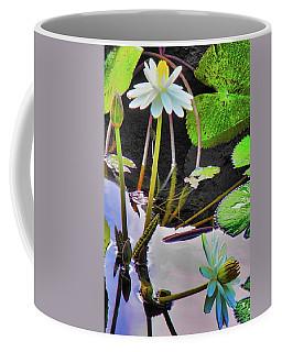 Elegant Water Lily Coffee Mug