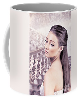 Elegant Woman Coffee Mug