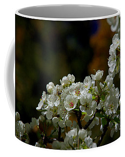 Elegantly White Coffee Mug by Vicki Pelham