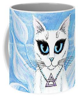 Elemental Air Fairy Cat Coffee Mug