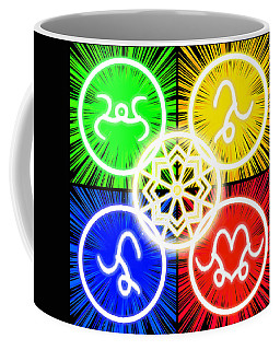 Coffee Mug featuring the digital art Elements Of Consciousness by Shawn Dall
