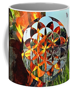 Coffee Mug featuring the digital art Elements Of Life by Derek Gedney