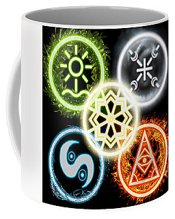 Elements Of Nature Coffee Mug by Shawn Dall
