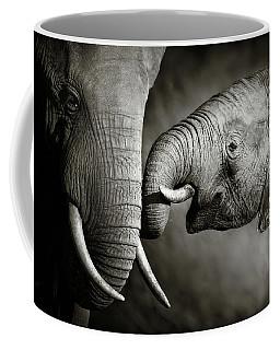Elephant Affection Coffee Mug