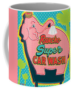 Elephant Car Wash - Rancho Mirage - Palm Springs Coffee Mug