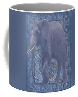 Elephant Facing Left Coffee Mug