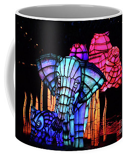 Elephant In Blue Coffee Mug