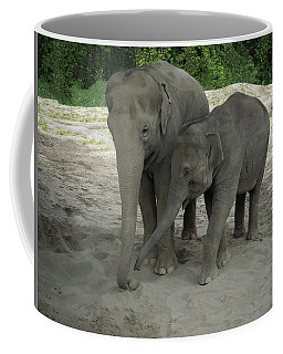 Elephant Nose Communication Coffee Mug