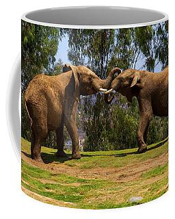 Elephant Play 3 Coffee Mug