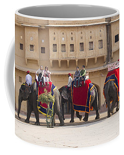 Elephant Ride 2 Coffee Mug
