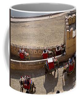 Elephant Ride 3 Coffee Mug
