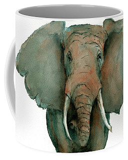 Elephant Up Close Coffee Mug