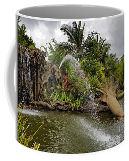 Elephant Waterfall Coffee Mug