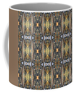Elephant With Branch Pattern 1 Coffee Mug