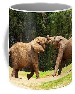 Elephants At Play 2 Coffee Mug