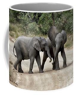 Elephants Childs Play Coffee Mug