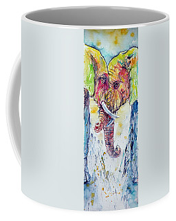 Elephants In Love Coffee Mug
