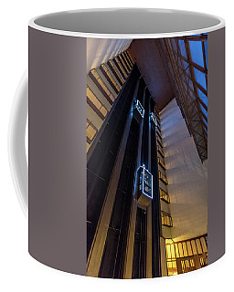 Coffee Mug featuring the photograph Elevated by Randy Scherkenbach