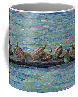 Eleven Turtles Coffee Mug