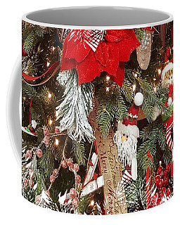 Elf In A Tree Coffee Mug