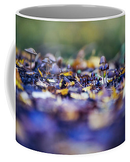 Coffee Mug featuring the photograph Elfin World by Gene Garnace