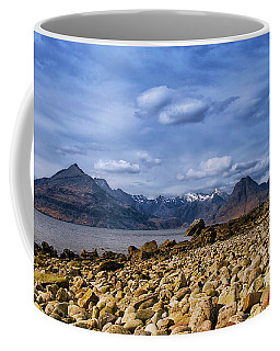 Elgol Beach And The Cuillin Hills Coffee Mug