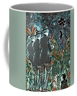 Elite Hide And Seek Coffee Mug by Vennie Kocsis