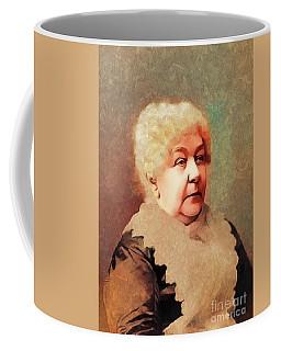Elizabeth Cady Stanton, Suffragette Coffee Mug