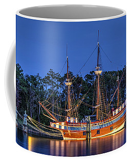 Elizabeth II At Dock Coffee Mug
