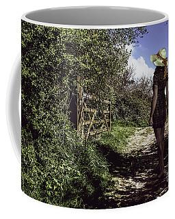Eliza's Walk In The Countryside. Coffee Mug