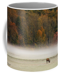 Elk At Sunrise Coffee Mug